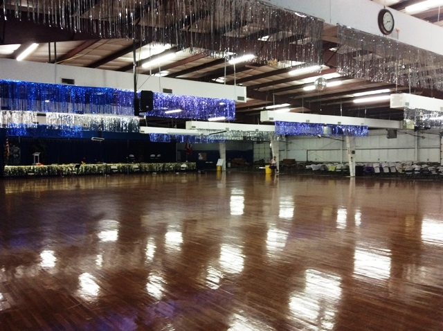 View of Dance Hall and the Stage